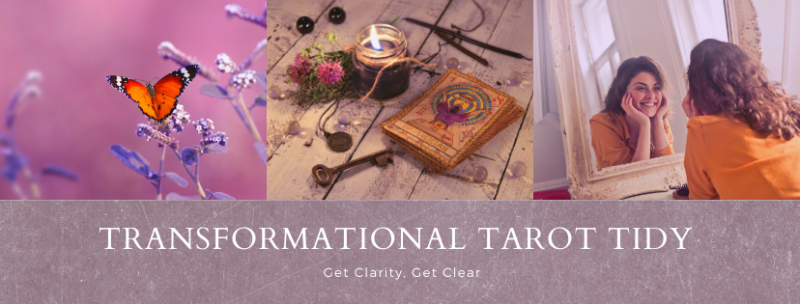 Tarot tidy  landing page badge
